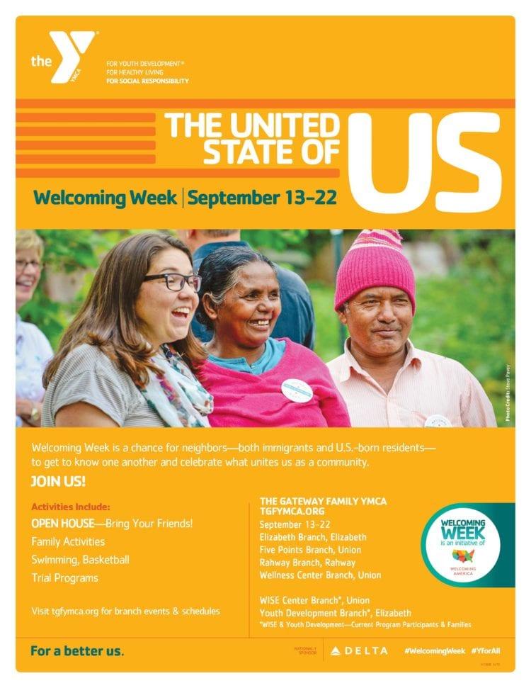 Welcoming Week Flyer English