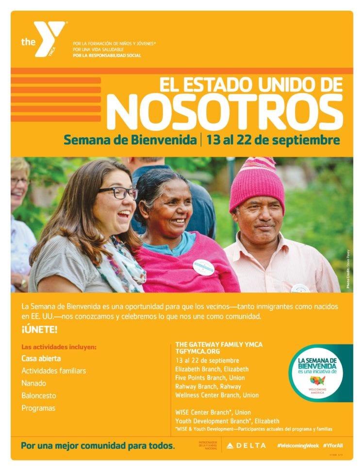 Welcoming Week Flyer Spanishn